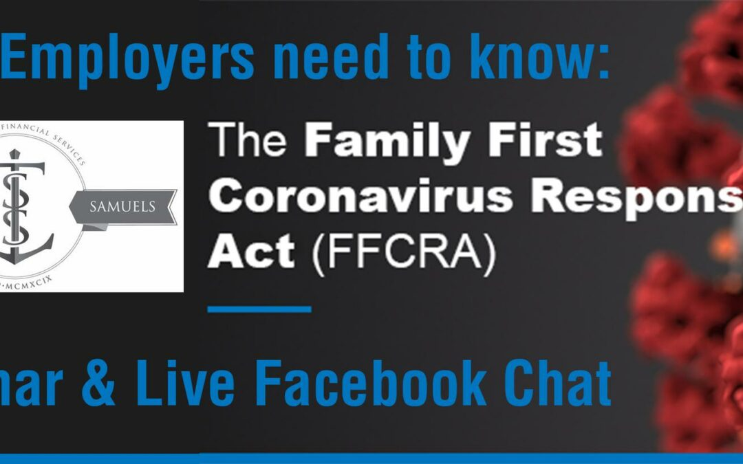 What Employers Need to Know: Family First Coronavirus Response Act (FFCRA)