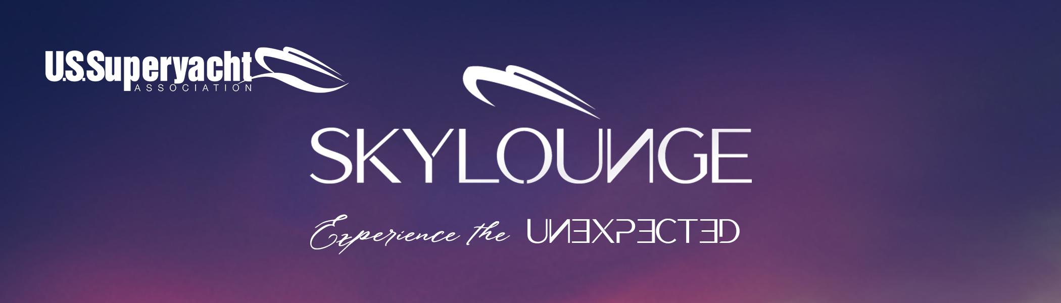 Header with skylounge logo