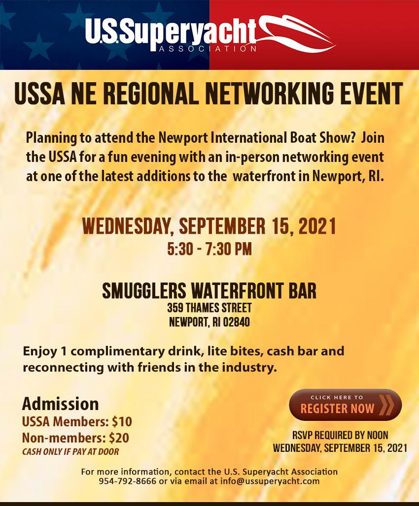 Newport Flyer for USSA networker